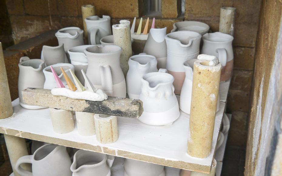 Ceramics at Nyp, Iceland.